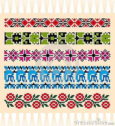 Slavonic natural patterns