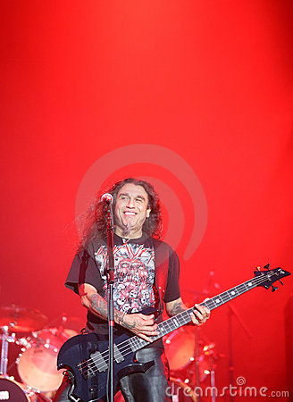 Slayer on Sopnisphere festival CZ Editorial Stock Image