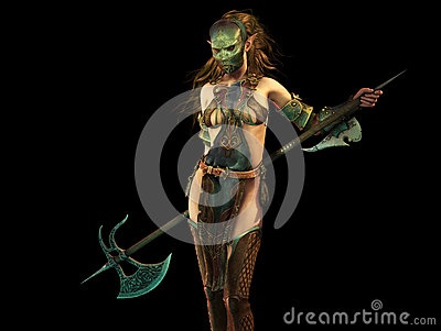 Slayer Woman 3d Computer Graphics