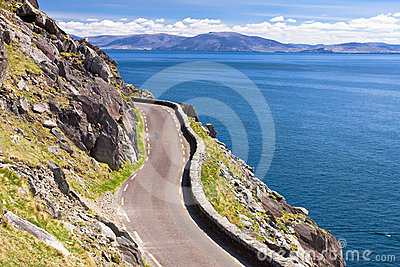 The Slea Head Drive  of the peninsula in Ireland.