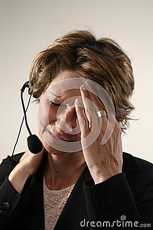 Slechte hoofdpijn