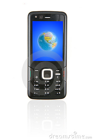 Sleek Mobile Phone