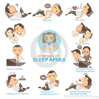 Free Sleep Apnea Royalty Free Stock Image - 73614916
