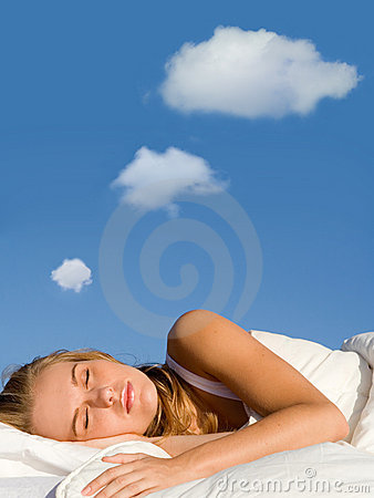 Free Sleep Dreaming Royalty Free Stock Photos - 6674118