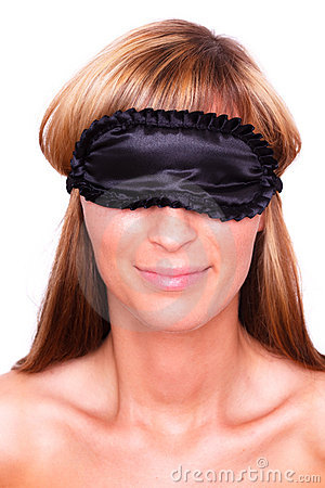 Sleep mask woman