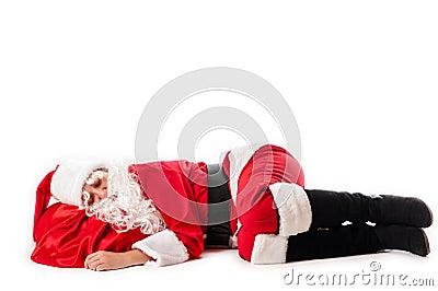 Sleep Santa Claus