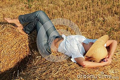 Sleep on straw