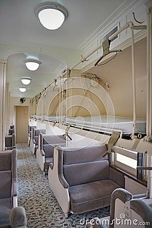 Sleeper coach interior