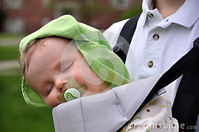 Sleeping Baby on Sling