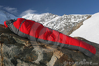 Sleeping Bag Royalty Free Stock Photos - Image: 2554718
