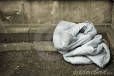 Sleeping Bag, Home of The Homeless