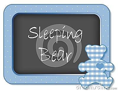 Sleeping Bear Nursery Frame