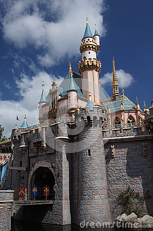 Sleeping Beauty Castle Editorial Image