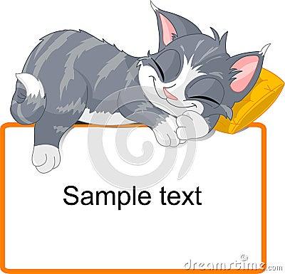 Free Sleeping Cat Stock Image - 8122241