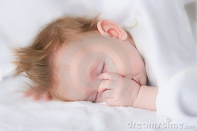 The sleeping child