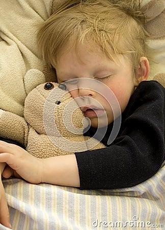 Free Sleeping Child Royalty Free Stock Photo - 9227165