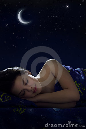 Free Sleeping Girl Stock Photo - 19068000