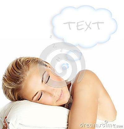 Free Sleeping Girl Stock Images - 23076694