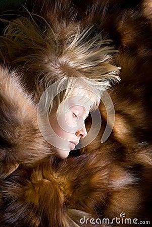 Sleeping girlie