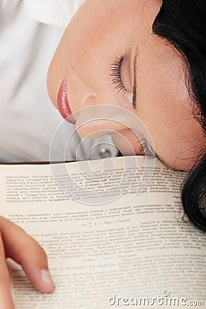 Sleeping while learning