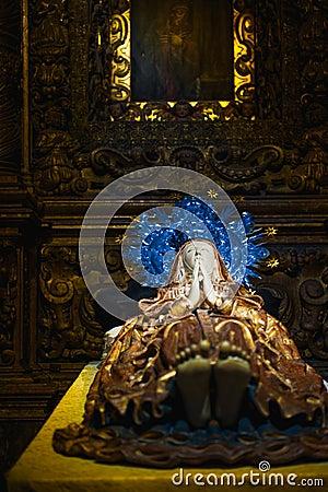 Sleeping Mary in Majorca
