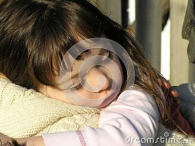 Sleepy Little Girl