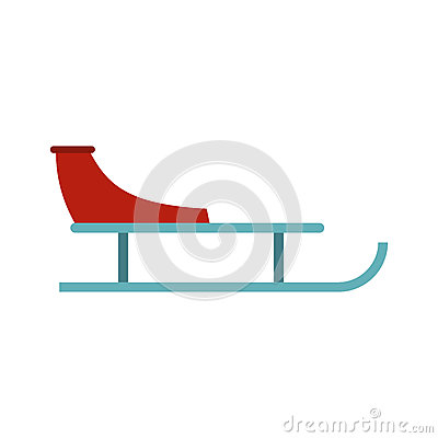 Free Sleigh Icon, Flat Style Stock Images - 82580834