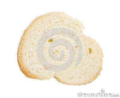 Slice of baguette
