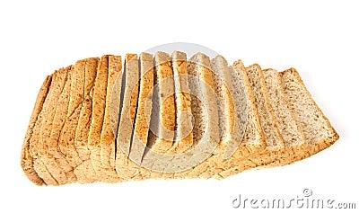 Slice of bread.
