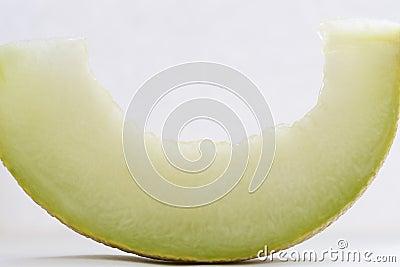 Slice of a cantaloupe