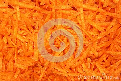 Slice carrot background
