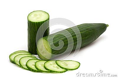 Slice cucumber