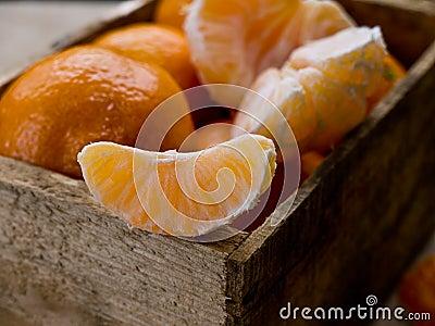 Slice of Mandarin Orange or Clementines