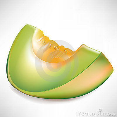Slice Of Melon Stock Photo - Image: 21740800