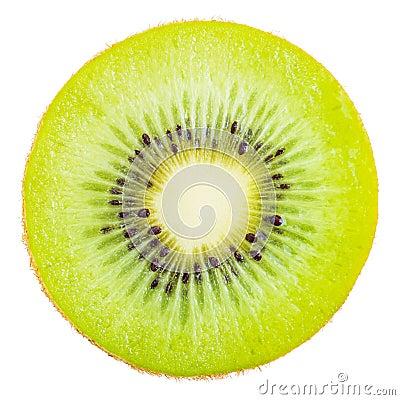 Free Slice Of Fresh Kiwi Fruit. Stock Photo - 82743150
