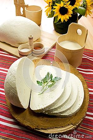 Free Slice Of Traditional Slovak Sheep S Milk Cheese Stock Photos - 5401073