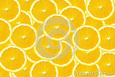 Slice of orange background