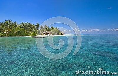 Slice of paradise at isolated Maldive Island