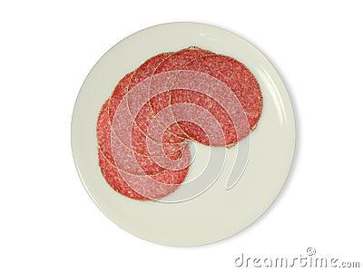 Slice of salami