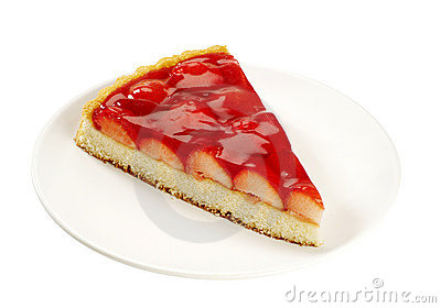 Slice of Strawberry Tart