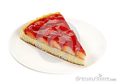 Slice of Strawberry Tart