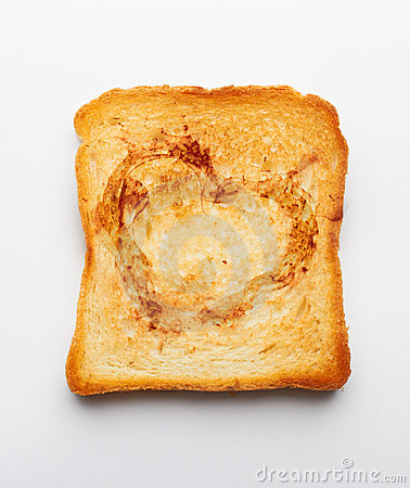 Slice of toast