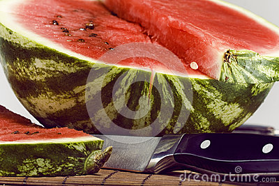 Slice of water-melon