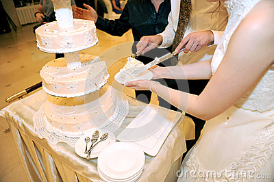 Slice of Wedding Cake