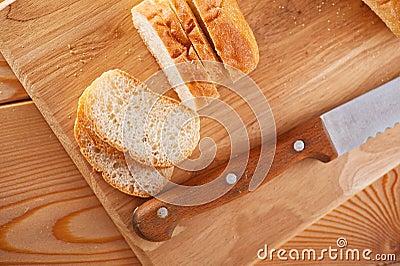 Sliced loaf (long loaf)