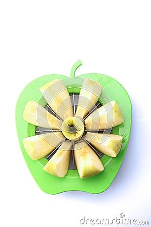 Free Sliced Apple Stock Image - 12665331