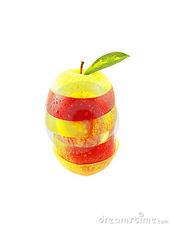Sliced apple