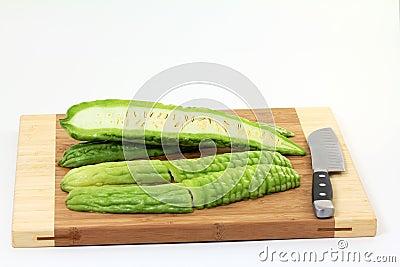 Sliced Bitter Melons