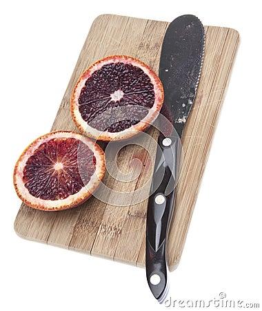 Free Sliced Blood Oranges Royalty Free Stock Image - 13164676