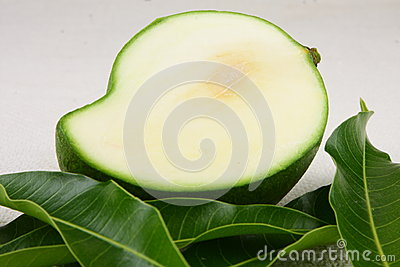 Sliced Green Mango Stock Photo - Image: 42772055